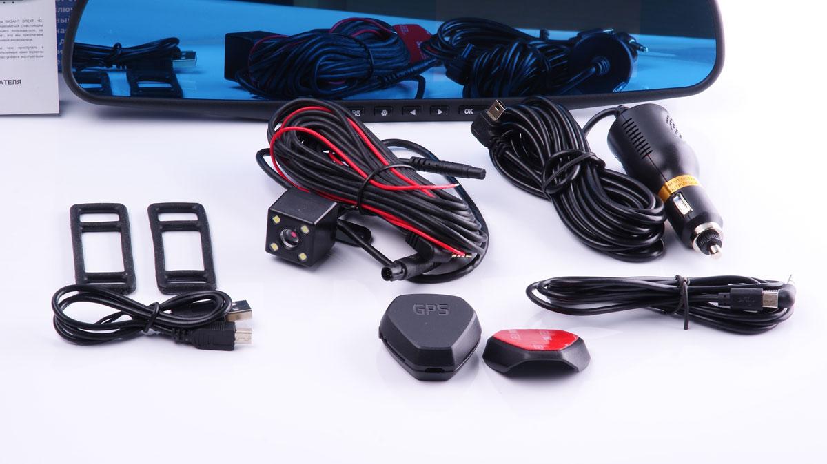 Автомобильные видеорегистраторы двухканальный зеркало заднего вида с регистратора